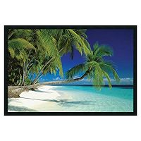 ''Maldives Beach'' Framed Wall Art