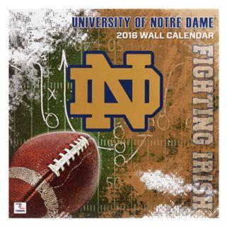 "Turner Notre Dame Fighting Irish 2016 12"" x 12"" Wall Calendar"