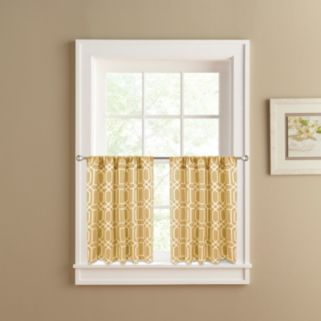 Colordrift Penny 2-pk. Tier Curtains