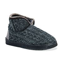 MUK LUKS Men's Mark Bootie Slippers