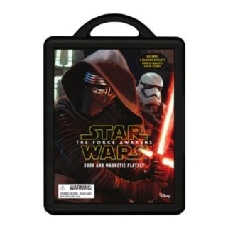 Star Wars: Episode VII The Force Awakens Magnetic Book & Play Set