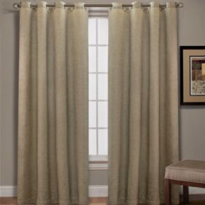 Spencer Home Decor Mika Basketweave Curtain