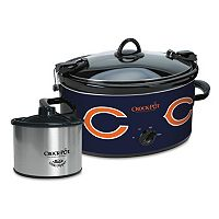 Crock-Pot Cook & Carry Chicago Bears 6-Quart Slow Cooker Set