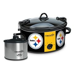 Crock-Pot Cook & Carry Pittsburgh Steelers 6-Quart Slow Cooker Set