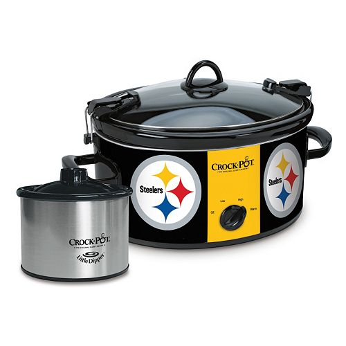 Crock-Pot Cook & Carry Pittsburgh Steelers 6-Quart Slow Cooker Set