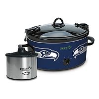 Crock-Pot Cook & Carry Seattle Seahawks 6-Quart Slow Cooker Set