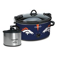 Crock-Pot Cook & Carry Denver Broncos 6-Quart Slow Cooker Set