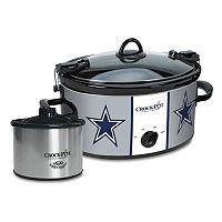 Crock-Pot Cook & Carry Dallas Cowboys 6-Quart Slow Cooker Set