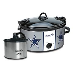 Crock-Pot Cook & Carry Dallas Cowboys 6-Quart Slow Cooker Set
