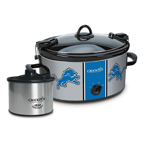Crock-Pot Cook & Carry Detroit Lions 6-Quart Slow Cooker Set