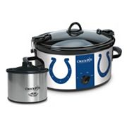 Crock-Pot Cook & Carry Indianapolis Colts 6-Quart Slow Cooker Set