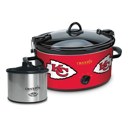 Crock-Pot Cook & Carry Kansas City Chiefs 6-Quart Slow Cooker Set