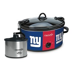 Crock-Pot Cook & Carry New York Giants 6-Quart Slow Cooker Set