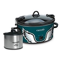 Crock-Pot Cook & Carry Philadelphia Eagles 6-Quart Slow Cooker Set