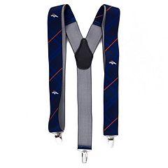 Men's Denver Broncos Oxford Suspenders