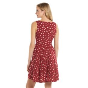 Disney's Minnie Rocks the Dots a Collection by LC Lauren Conrad Polka-Dot Fit & Flare Dress - Women's