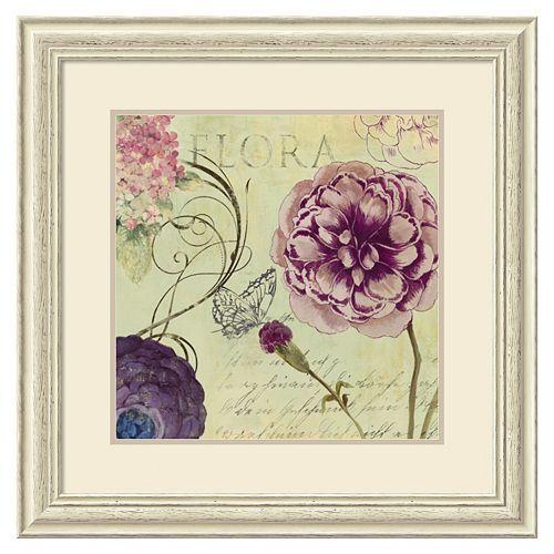 ''Flora'' Framed Wall Art