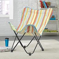 Urban Shop Surfer Stripe Butterfly Chair