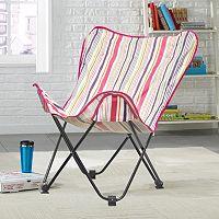 Urban Shop Surfer Stripe Butterfly Chair
