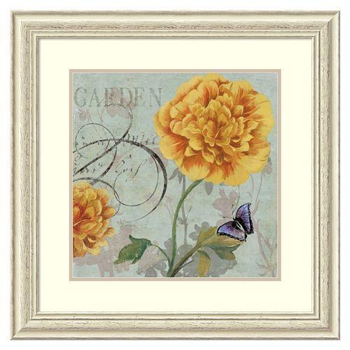 ''Garden'' Framed Wall Art