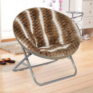 Urban Shop Ombre Wave Textured Saucer Chair