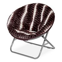 Urban Shop Ombre Wave Textured Saucer Chair