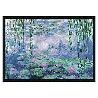 ''Nympheas'' Framed Wall Art by Claude Monet