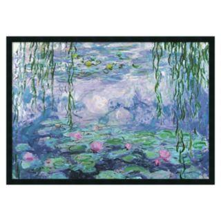 ''Nympheas'' Framed Wall Art by Claude Monet