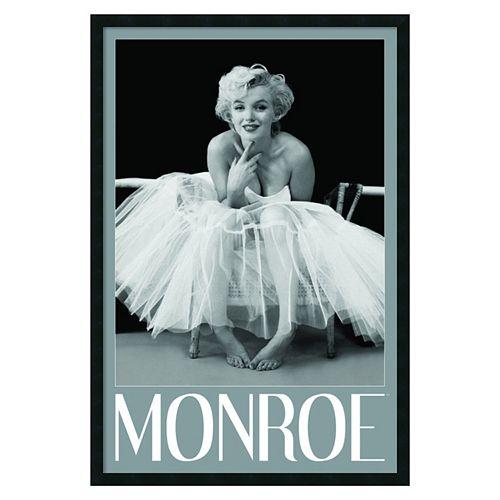 Marilyn Monroe Ballerina Framed Wall Art