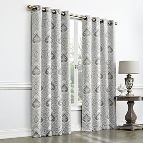 Regent Court Global Jacquard Room Darkening Window Curtain