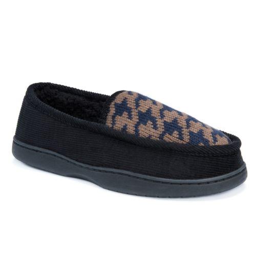 MUK LUKS Men's Henry Loafer ... Slippers