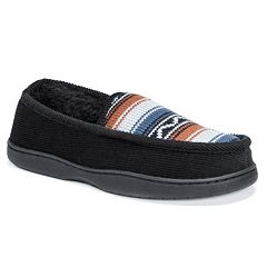 44441c0e081b MUK LUKS Men s Henry Loafer Slippers
