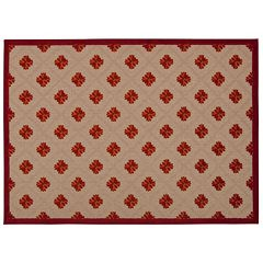 Nourison Aloha Floral Medallion Indoor Outdoor Rug