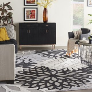 Nourison Aloha Large Dahlia Indoor Outdoor Rug