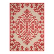 Nourison Aloha Large Medallion Indoor Outdoor Rug