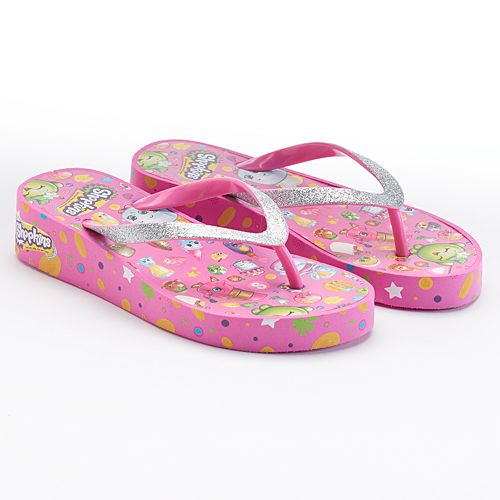 Shopkins Girls Eva Wedge Sandals