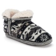 MUK LUKS Amira Women's Knit Bootie Slippers