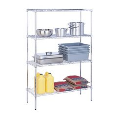 Honey-Can-Do 4 tier Urban Adjustable Storage Shelving Unit