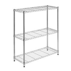 Honey-Can-Do 3 tier Chrome Shelving Unit