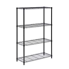 Honey-Can-Do 4 Tier Chrome Shelving Unit