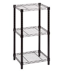 Honey-Can-Do 3 Tier Wire Shelving Tower