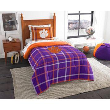 Clemson Tigers Soft & Cozy Twin Comforter Set by Northwest