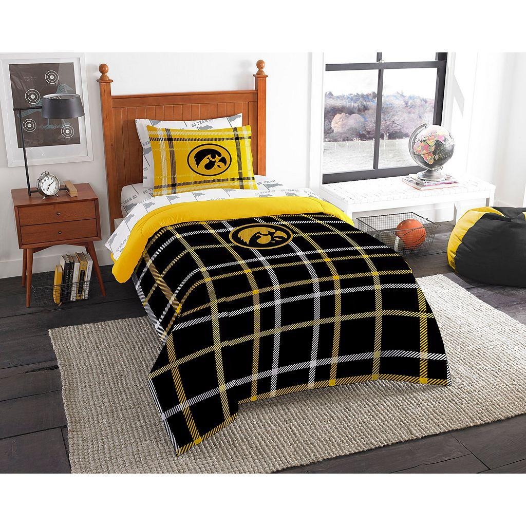 Iowa Hawkeyes Soft & Cozy Twin Comforter Set by Northwest