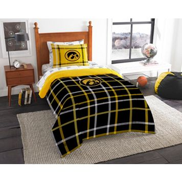 Iowa Hawkeyes Soft & Cozy Twin Comforter Set by Northwest