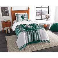 Michigan State Spartans Soft & Cozy Twin Comforter Set by Northwest