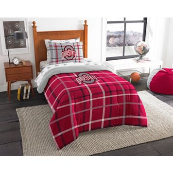 Ohio State Buckeyes Soft & Cozy Twin Comforter Set by Northwest