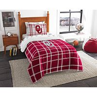 Oklahoma Sooners Soft & Cozy Twin Comforter Set by Northwest