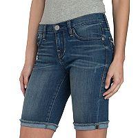 Women's Rock & Republic® Faded Bermuda Jean Shorts