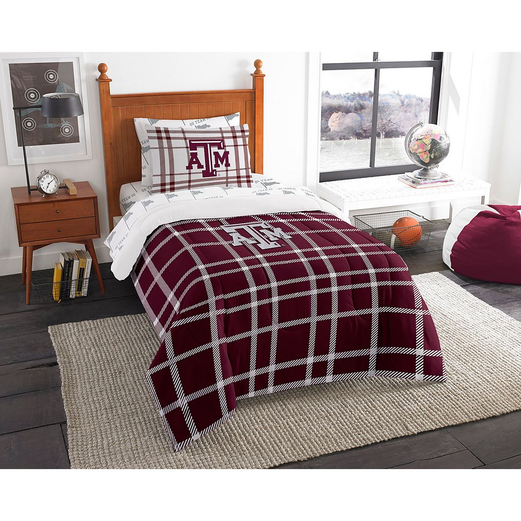 Texas A&M Aggies Soft & Cozy Twin Comforter Set by Northwest