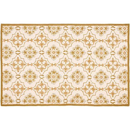Safavieh Chelsea Stanton Floral Hand Hooked Wool Rug - 2'6'' x 6'